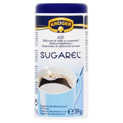 Krüger Sugarel 650 Tafelzoetstoftabletten 39 g