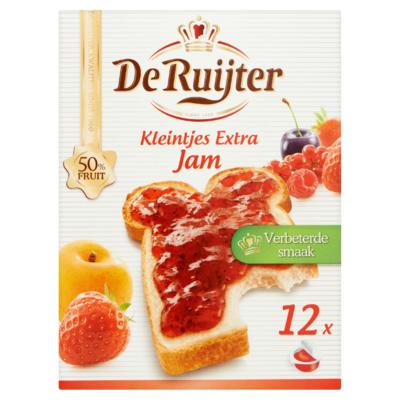 De Ruijter Kleintjes Extra Jam 12 x 25 g