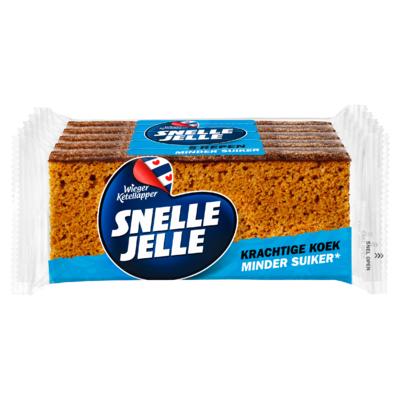 Snelle Jelle Minder Suiker 5-pack 250 g