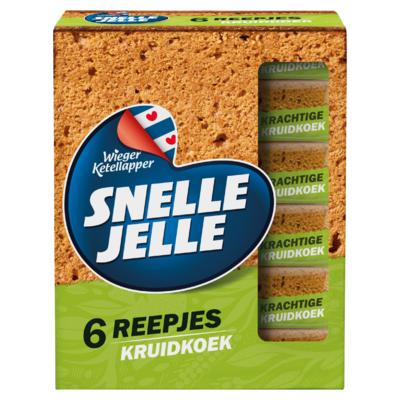 Snelle Jelle Kruidkoek Tussendoor 216 g