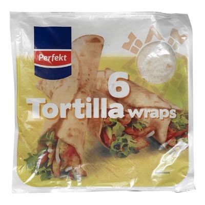 Perfekt tortilla wraps