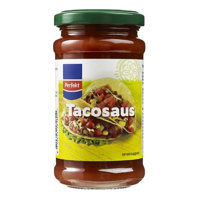 Perfekt tacosaus