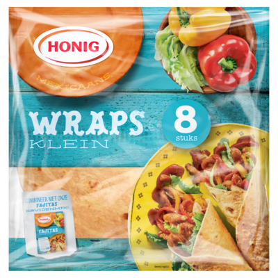 Honig Mexicaans Wraps Klein 8 Stuks 320 g