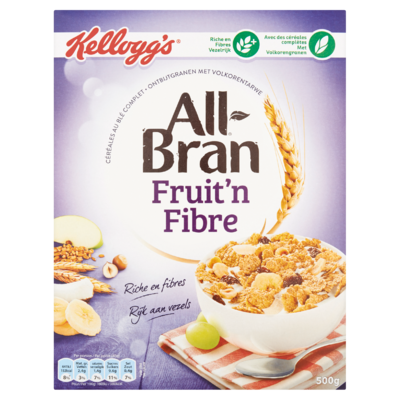Kellogg's All-Bran Fruit'n Fibre 500 g
