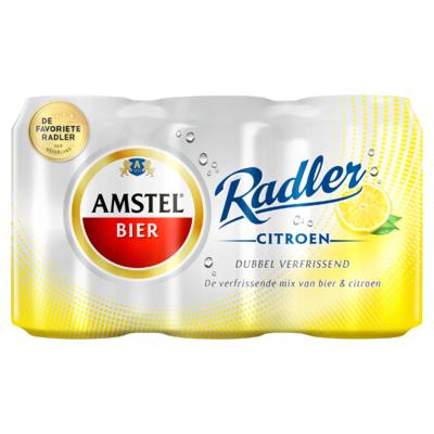 Amstel Radler Blikken 6 x 33 cl