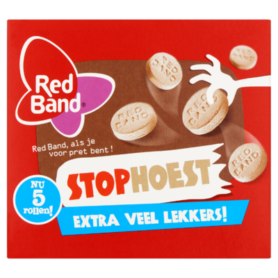 Red Band Stophoest 5 Rollen 40 g