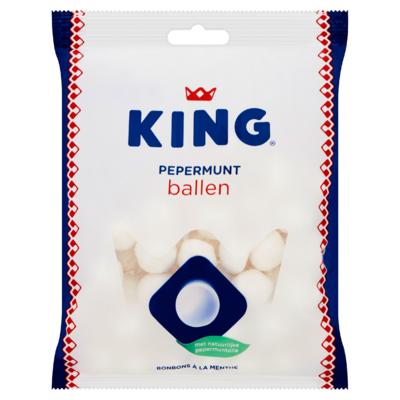 King Pepermunt Ballen 250 g
