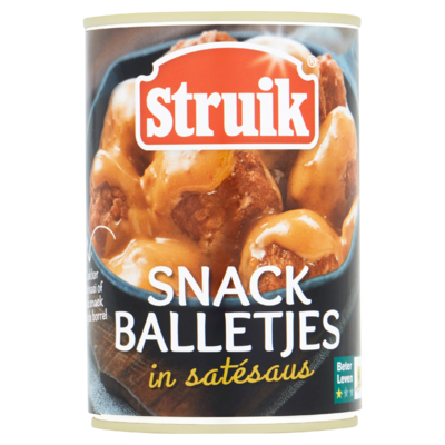 Struik Snackballetjes  sate