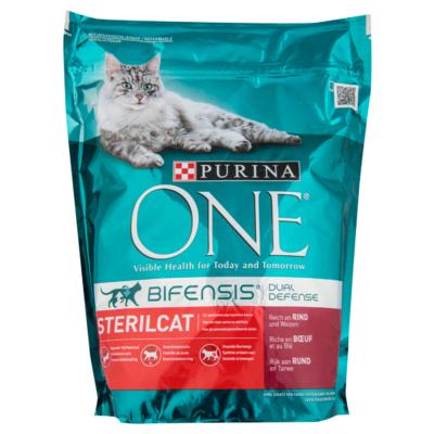 Purina One Kattenvoer sterilcat rund & tarwe