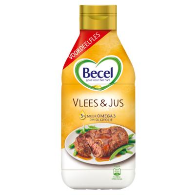 Becel Vlees & Jus Vloeibaar voor Bakken & Braden 750 ml