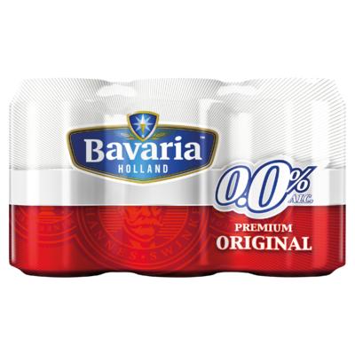 Bavaria 0.0% Original Pils Alcoholvrij Bier 6 x 33 cl