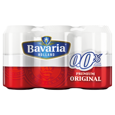 Bavaria 0.0% Original Blik 6 x 33 cl