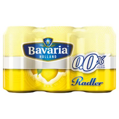 Bavaria 0.0 Radler Lemon Blik 6 x 33 cl