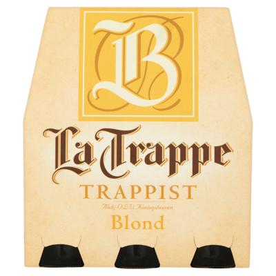 La Trappe Blond Trappist Fles Speciaalbier 6 x 30 cl
