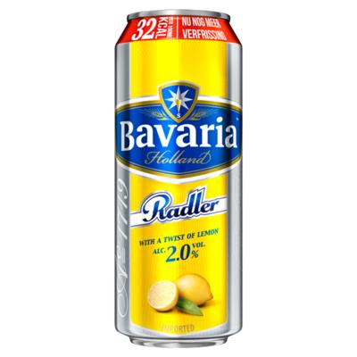 Bavaria Radler 2%  lemon