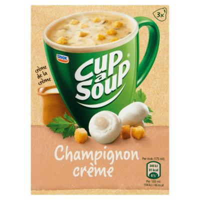 Cup-A-Soup Champignon Crème 3 x 17 g