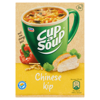 Cup-A-Soup Chinese Kip 3 x 13 g