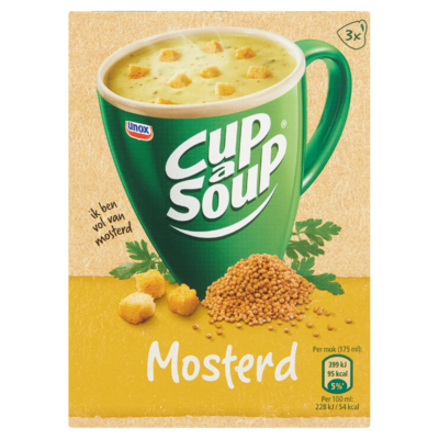 Cup-A- Soup Mosterd 3 x 18 g