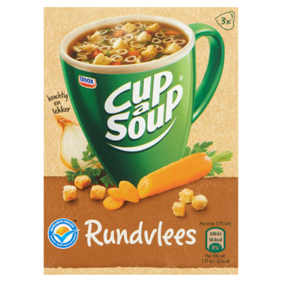 Cup-A-Soup Rundvlees 3 x 14 g