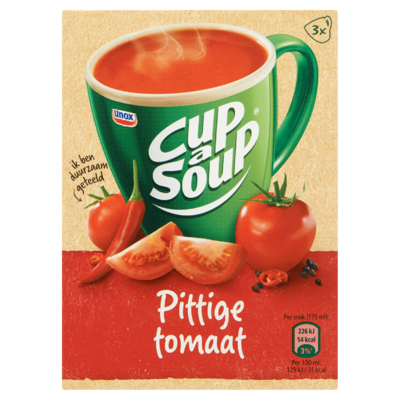 Cup-A- Soup Pittige Tomaat 3 x 16 g