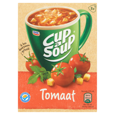 Cup-A-Soup Tomaat 3 x 18 g