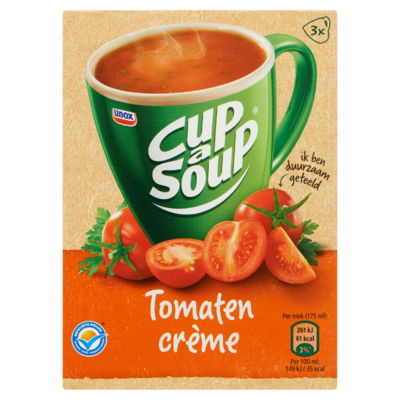 Cup-A- Soup Tomaat Crème 3 x 16 g