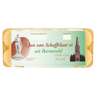 Jan van Schaffelaar Scharrel Ei 10 Stuks
