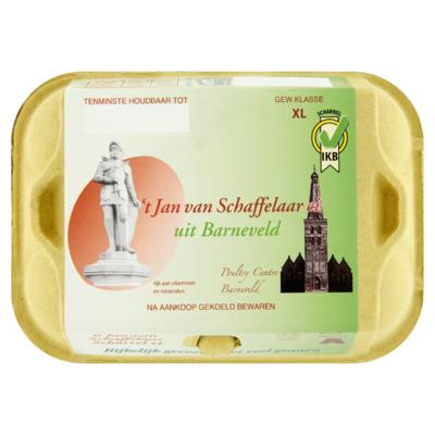 Jan van Schaffelaar Scharrel Ei XL 6 Stuks
