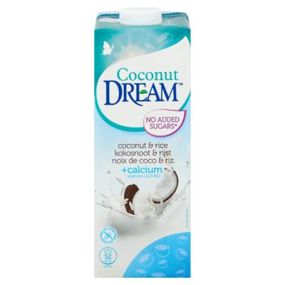 Dream Kokosnoot & Rijst +Calcium Vitamins D2 & B12 1 L
