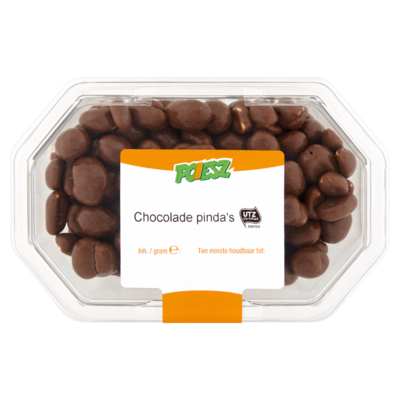 Poiesz Chocolade Pinda's 250 g