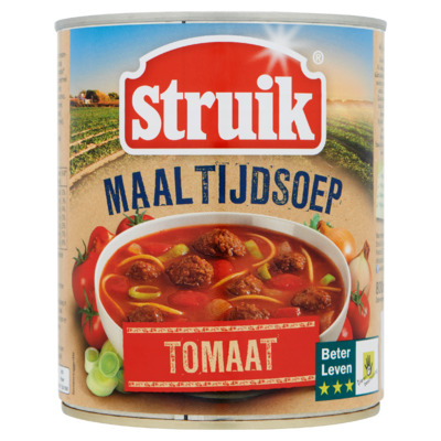 Struik Maaltijdsoep Tomaat 800 ml