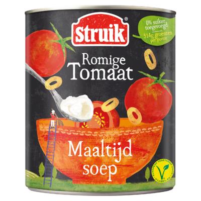 Struik Maaltijdsoep Romige Tomaat 810 g