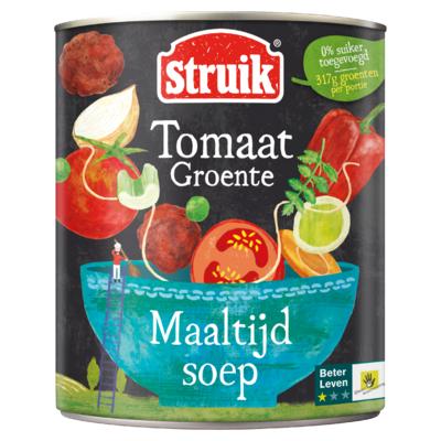 Struik Maaltijdsoep Tomaat Groente 810 g