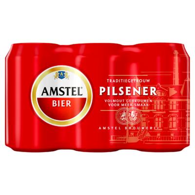 Amstel Blik 6 x 33 cl