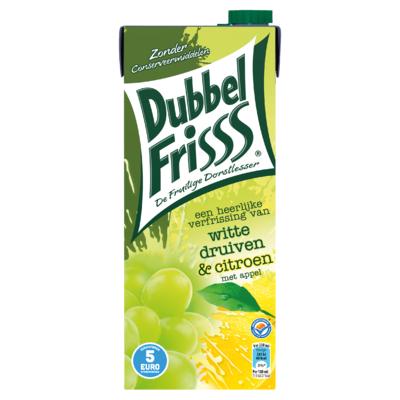 DubbelFrisss Witte Druiven & Citroen 1,5 L