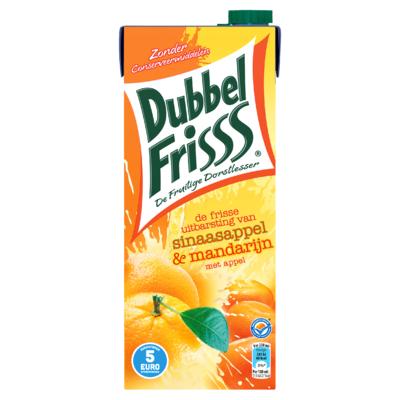 DubbelFrisss Sinaasappel & Mandarijn met Appel 1,5 L