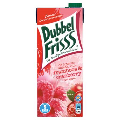 DubbelFrisss Framboos & Cranberry 1,5 L