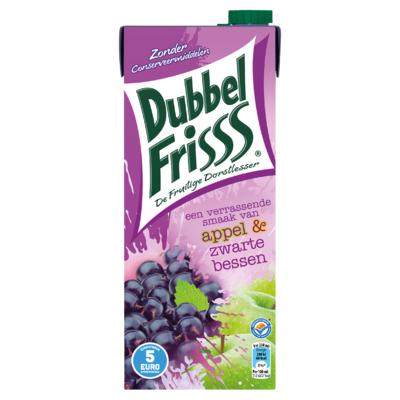 DubbelFrisss Appel & Zwarte Bessen 1,5 L