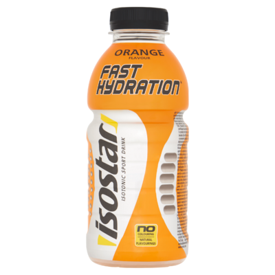 Isostar Fast Hydration Isotonic Sport Drink Orange Flavour 500 ml