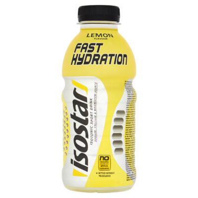 Isostar Fast Hydration Isotonic Sport Drink Lemon Flavour 500 ml