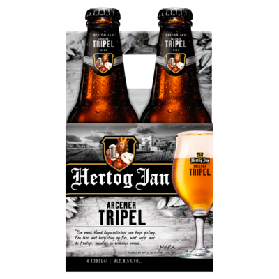 Hertog Jan Arcener Tripel Bier Flessen 4 x 30 cl