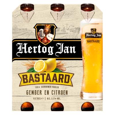 Hertog Jan Bastaard Gember en Citroen Flessen 6 x 30 cl