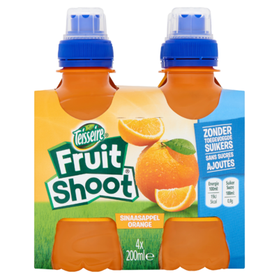 Fruit Shoot Sinaasappel 0% 4 x 200 ml