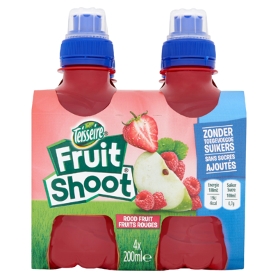 Fruit Shoot Rood Fruit 0% 4 x 200 ml