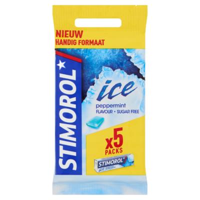 Stimorol Ice Peppermint Flavour Sugar Free 5 x 14 g