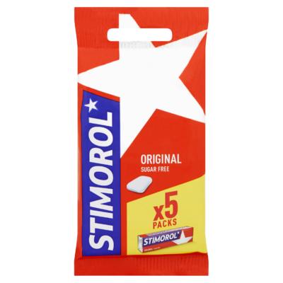 Stimorol Kauwgom Original Gum 5 Packs 90 g