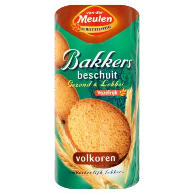 Van Der Meulen Bakkers Beschuit Volkoren 13 Stuks
