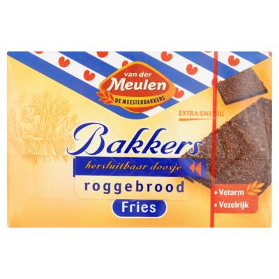 Van der Meulen Bakkers Roggebrood Fries 500 g