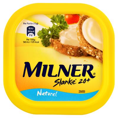 Milner Slankie Smeerkaas Naturel 20+ 150 g
