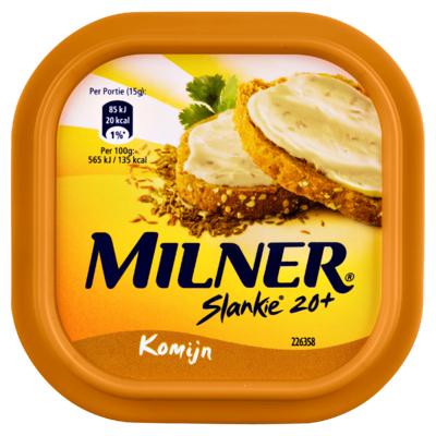 Milner Slankie Smeerkaas Komijn 20+ 150 g
